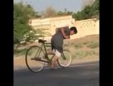 Когда не хватает на машину для дрифта, но есть велосипед