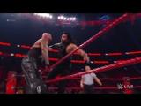 WWE.COM #RAW Roman Reigns vs. Luke Gallows &amp Karl Anderson (2132017)
