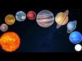 Мультик про космос - какие есть планеты. Развивающие мультфильмы для детей.