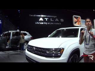 2018 Volkswagen Atlas – Redline_ First Look – 2016 LAAS