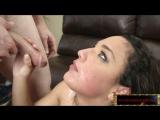 Шикарное порно во все дырочки с Nikki Knightly, Amara Romani. Порно двойное проникновение в Full HD
