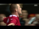 Wayne Rooneys debut hat-trick v Fenerbahçe