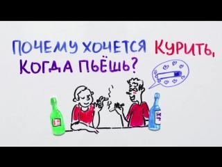 Когда выпьешь почему хочется курить