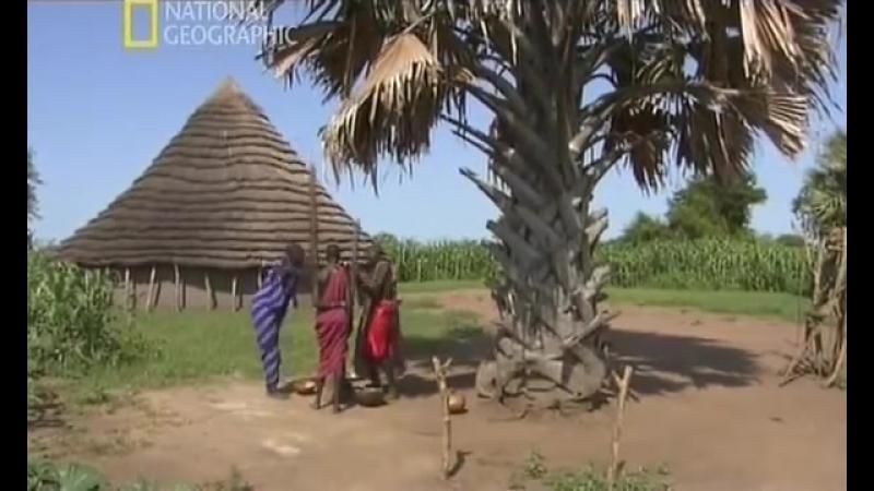 Жизнь Племен. 4. Динка -- National Geographic, 2007