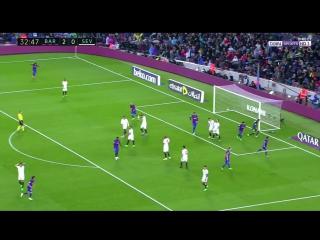 Барселона 3:0 Севилья. Дубль Месси