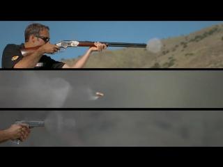 Слоу-мо клип с крутыми пушками