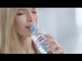 Вера Брежнева в рекламе воды «Святой источник» (Обед)