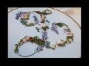 Embroidery: flower embroidery | Цветочная вышивка
