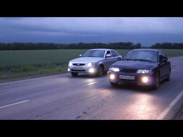 Mitsubishi Carisma VS Лада Приора