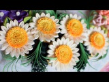Quilled flower Wreath Part 1 Quilled flowers 3d Quilling flowers Christmas Decoration