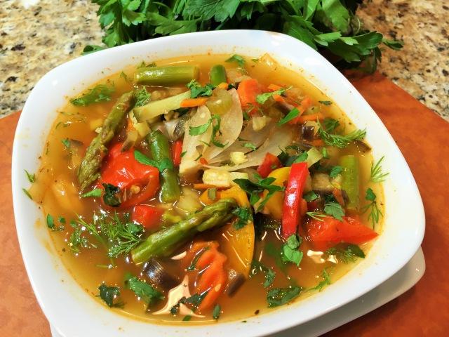 ПОСТНЫЙ ОВОЩНОЙ СУП наивкуснейший Vegetable soup diet