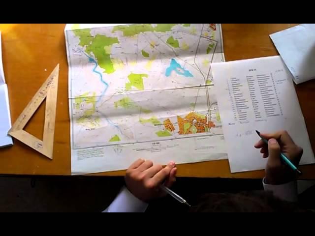 Географическая система координат на карте 1 занятие 13.09.13 ДЭК-11