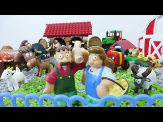 Ein Tag auf dem Bauernhof - Hier leben so viele Tiere - Spielspaß für Kinder