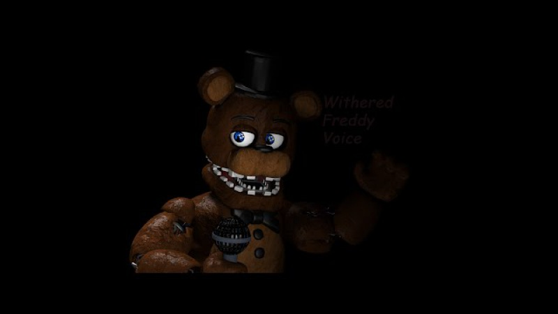 [SFM] Withered Freddy Voice (David Near)