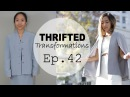 DIY Cape Blazer Thrifted Transformations Ep 42