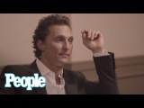 Matthew McConaughey Says Fake Boobs Are Overrated & When He Feels Sexiest   People