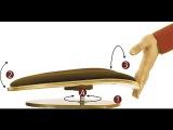Сиденье-тренажер Толстунова для позвоночника и спины.Трон здоровья. Польза сиденья-тренажера.