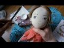 роспись лица куклы с описанием процесса