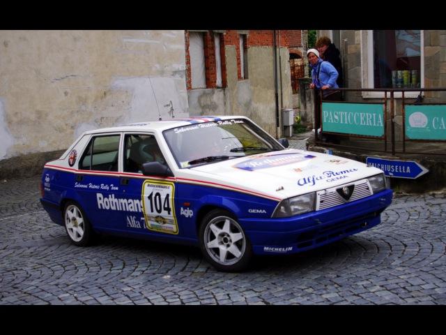 Alfa 75 2.5 V6 Rothmans (PS1-2 Integrale) - Davide Cironi Drive Experience