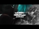 joker/harley | black and blue {suicide squad}