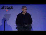 Wentworth Miller takes the title of Man of the Year at the Attitude Awards 2016 (October 10)