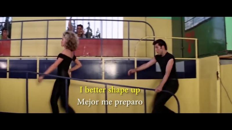 Grease - Youre the one that I want (Lyrics Sub Ing Esp)