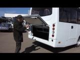 Новый автобус Ataman испытывают в Черкассах