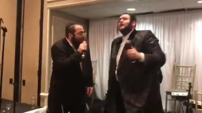 Shmily ungar meilech Kohn Boruch Shalom 3 super stars rocking at Yeedles daughter wedding