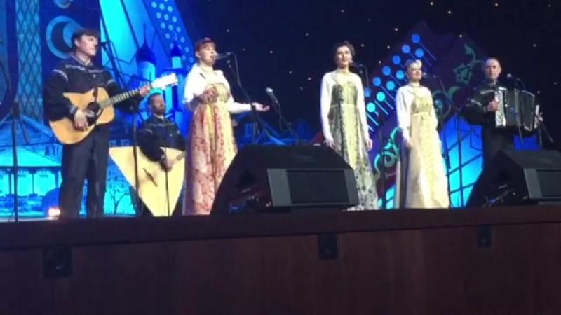 сёстры Смелковы на Кремлевской сцене. Спасибо большое Анастасии и Захару Заволокиным и всей команде