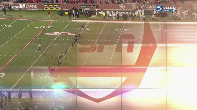 NCAAF 2016 / Week 11 / Wake Forest Demon Deacons - (6) Louisville Cardinals / 4 / 12.11.2016 / RU Viasat Sport, Д. Донской