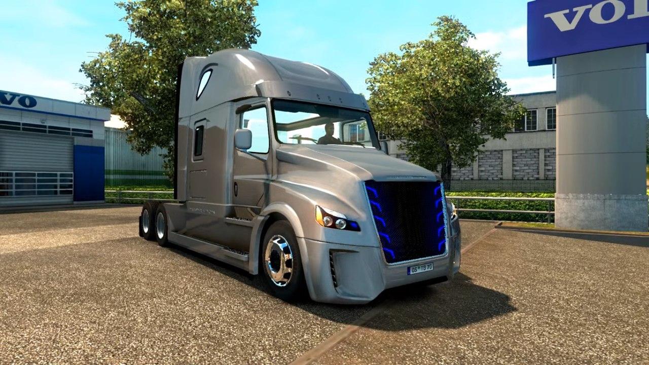 Грузовик Freightliner Inspiration Upgraded v2.5.1