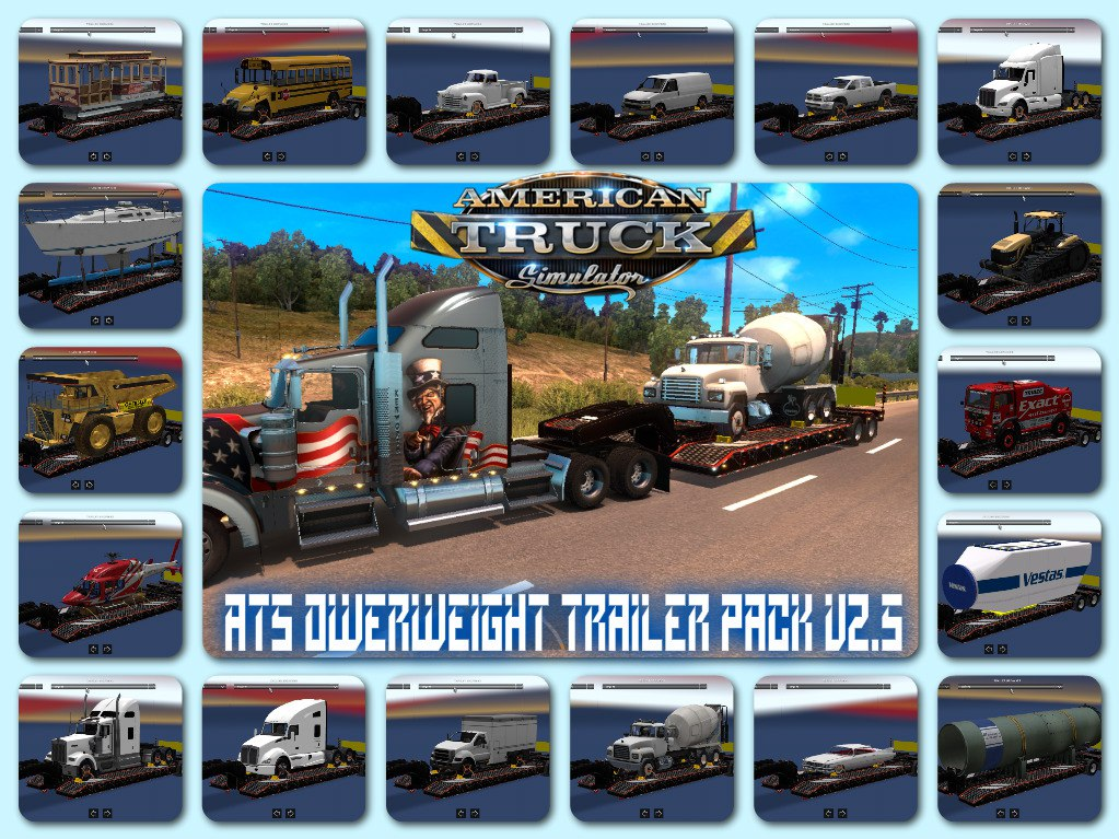 Overweight trailer pack v3.0
