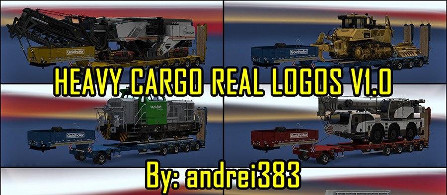 Heavy Cargo Real Logos v 1.0