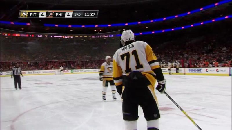 Трёхсотая шайба Малкина в Карьере НХЛ!
