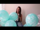 """Elisa Blow And nail pop 12"""" balloons - Preview Video"""