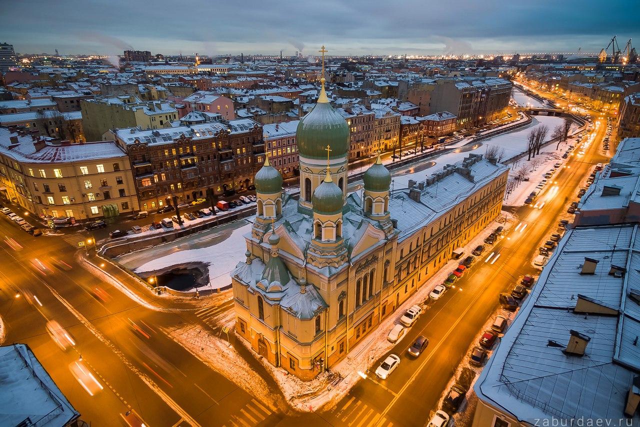 Церковь св. Исидора Юрьевского в Санкт-Петербурге