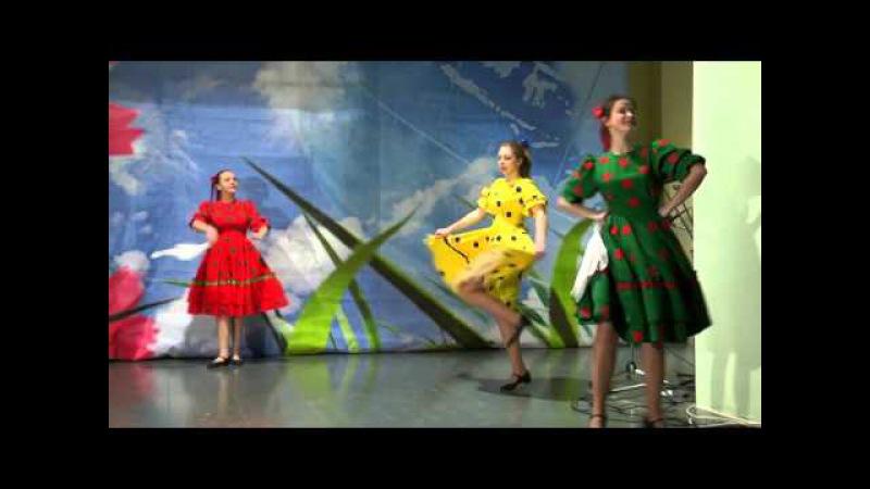 Дробушка рук.Анастасия Архипова Танцевальный коллектив Рябинушка