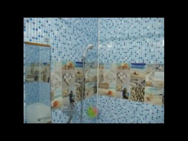 Ремонт за 4500р в ванной Панели пвх на клей