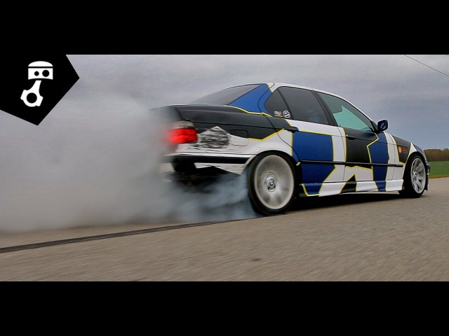 BMW 344i M62b44 (E36) Тест-драйв; zhmuraTV
