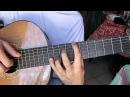 Cours de guitare - Patrick Bruel : J'te l'dis quand même (1/6) Démo intro