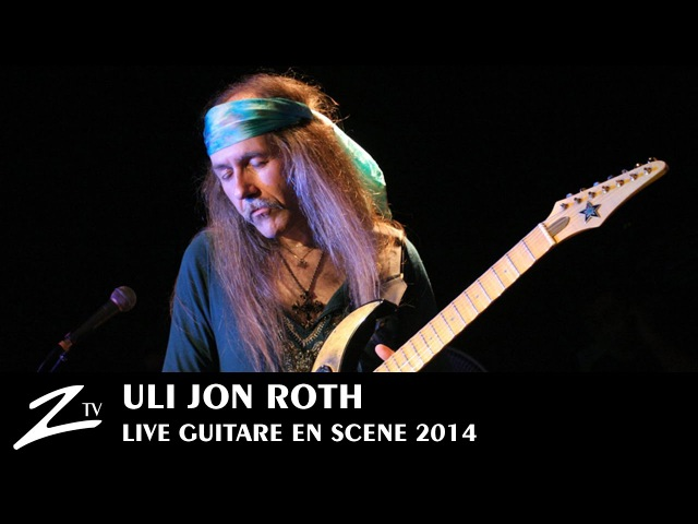 Uli Jon Roth - We'll Burn The Sky In Trance - Guitare en Scène 2014 - LIVE HD