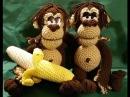 Tutorial scimmia amigurumi orango uncinetto parte I zoomigurumi