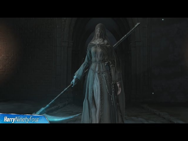 Dark Souls 3: Ashes of Ariandel DLC - Sister Friede, Father Ariandel Blackflame Friede Boss Fight