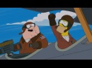 Homer Simpson and Peter Griffin are a greater team than the Air Force