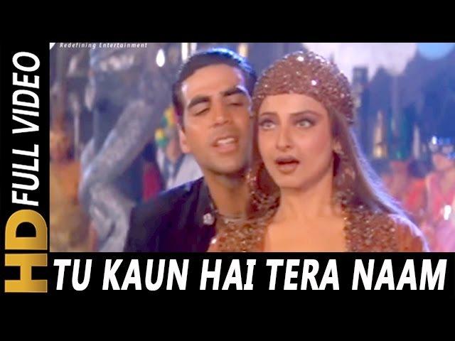 Tu Kaun Hai Tera Naam Kya | Kumar Sanu, Sadhana Sargam | Khiladiyon Ka Khiladi 1996 Songs | Akshay