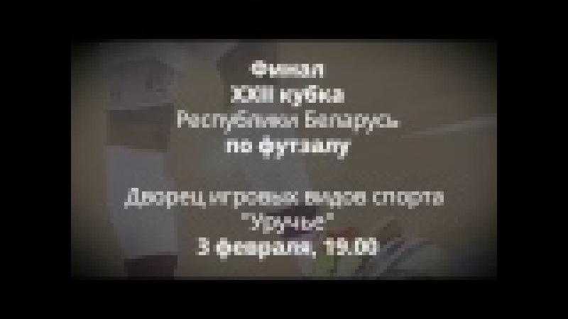 Финал Кубка Беларуси по футзалу-2016/17 (3 февраля, Уручье)