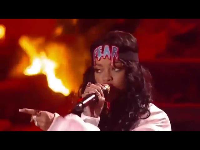 Eminem ft. Rihanna - The Monster Live at MTV Movie Awards 2014 (HD)