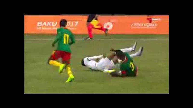 Футболист сборной Саудовской Аравии чуть было не скончался на поле во время матча Исламиады