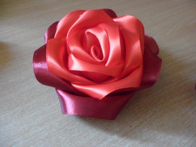Мастер Класс Пышная роза из атласной ленты Lush Rose of Satin Ribbon Dary Mia