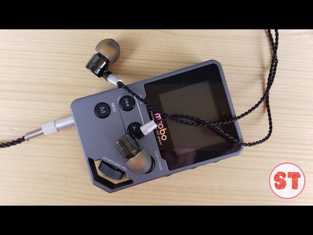 Знакомство с Mrobo C5 аудиоплеер на кодеке с великолепной крутилкой